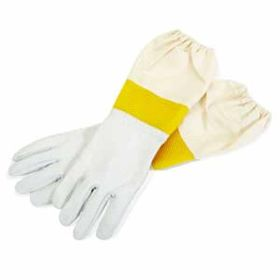 Little Giant: Md Goatskin Gloves W/ Vented Sleeves 3/C