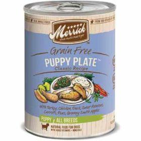 Merrick Pet Care: Puppy Plate 13.2Oz Dog 12/Cs
