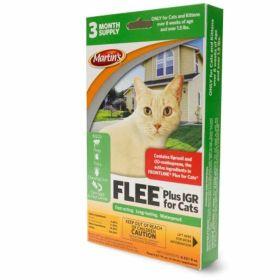 Martin's: Flee Plus IGR Spot-On For Cats 3 x .069oz