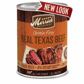 Real Texas Beef/ Dog 12.7 Oz. 12/Case