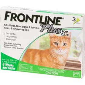"""Merial Limited: Frontline """"Plus"""" Cat & Kitten"""