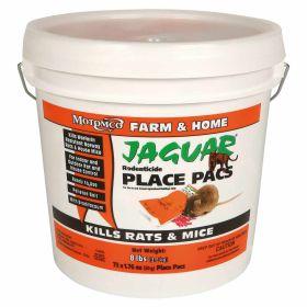 Motomco: Jaguar Place Pacs 73Ct Pail 2/Cs