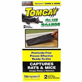 Motomco: Tomcat Rat Glue 2 Pak Valupak 24/Cs