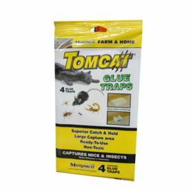 Motomco: Tomcat Glue Traps 4Pk 26/Cs