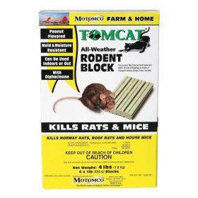Motomco: Tomcat 4 X 1lb Block 4/Cs
