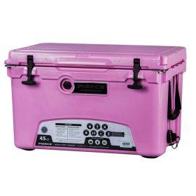 Cooler 45qt Pink