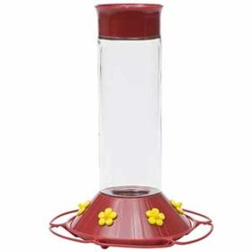 """Perky Pet Products: 30 Oz. Glass """"Our Best"""" Feeder 6/Cs"""