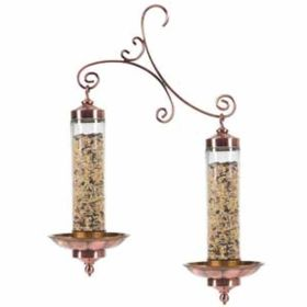 Perky Pet Products: Copper Glass Sip & Seed 2/Cs*