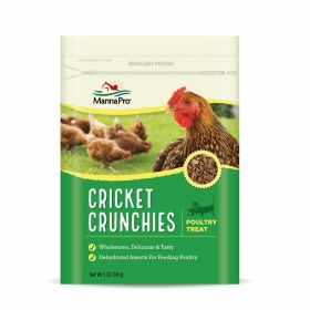 Cricket Crunchies 5Oz 6/Cs