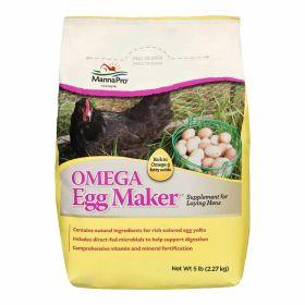 Manna Pro: Omega Egg Maker 5lb 6/Cs