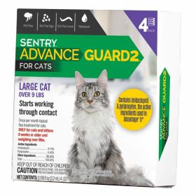ADVANCE GUARD 2 LARGE CAT OVER 9 # 4 CT