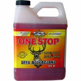 SCS Outdoors: One Stop Deer Attractant 32Oz