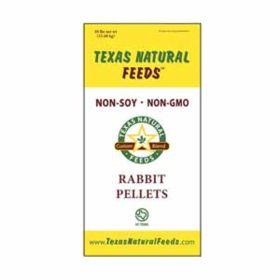 Texas Natural Feeds: 16% Rabbit Pellets 50lb