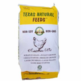 Texas Natural Feeds: Pullet Grower 50lb Crumble