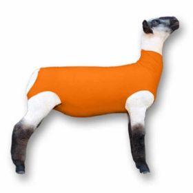 Lamb Sox Spandex MD Orange