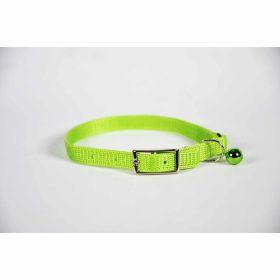 "Valhoma: Collar Cat 3/8"" X 10"" Lime Green"