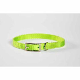 "Valhoma: Collar 3/8"" X 10"" Single Layer Lime Green"