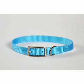 "Valhoma: Collar 3/8"" X 14"" Single Layer Turquoise"