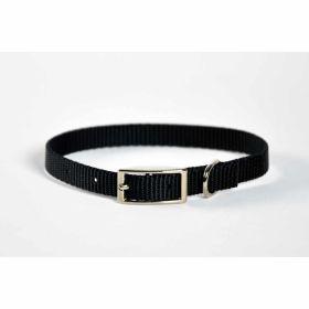 "Valhoma: Collar 3/8"" X 8"" Single Layer Black"
