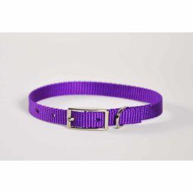 "Valhoma: Collar 3/8"" X 8"" Single Layer Purple"